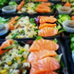 healthy sushi