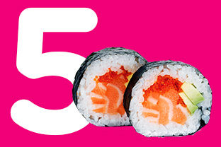 5 Facts about sushi